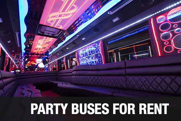 airport transportation party bus lubbock