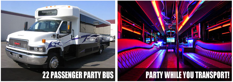 airport transportation party bus rentals lubbock