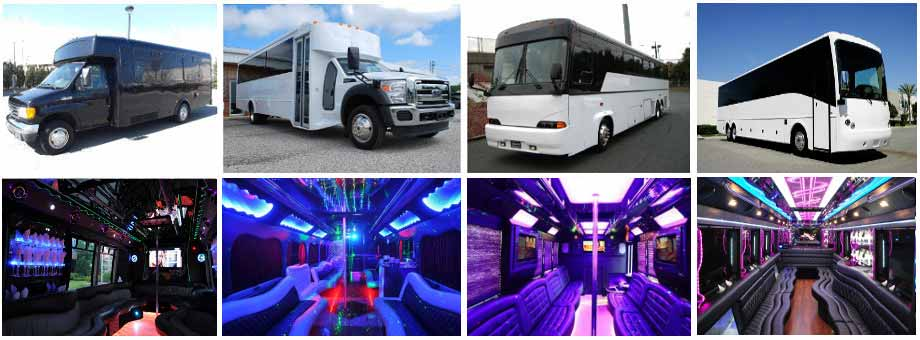 wedding transportation party buses lubbock