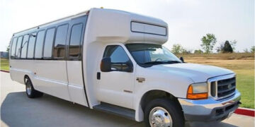 20 Passenger Shuttle Bus Rental Sweetwater