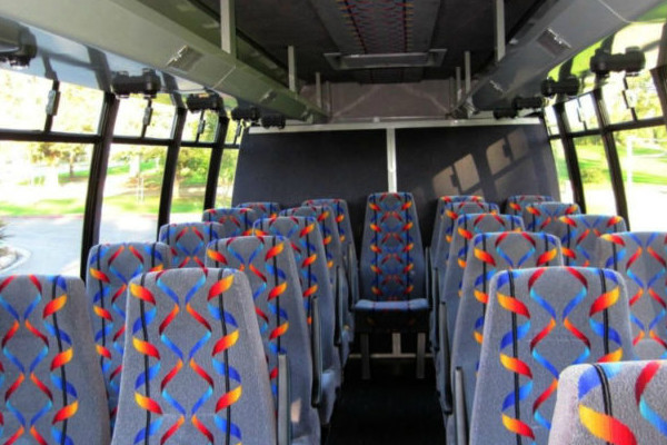 20 Person Mini Bus Rental Brownfield