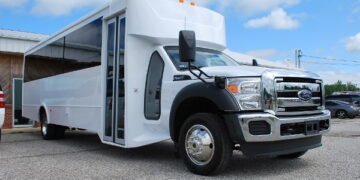 30 Passenger Bus Rental Andrews