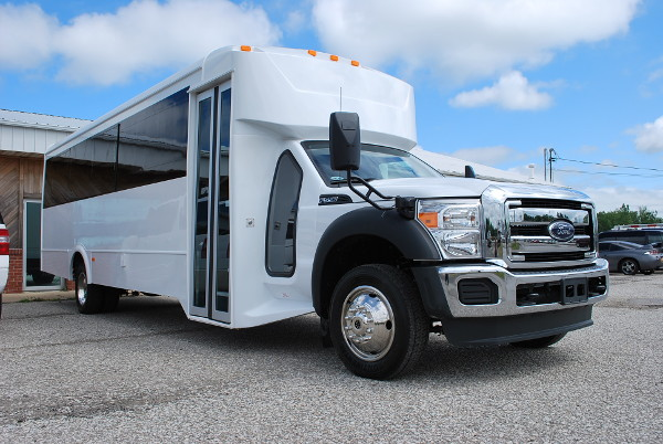 30 Passenger Bus Rental Canyon