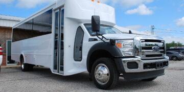 30 Passenger Bus Rental Midland