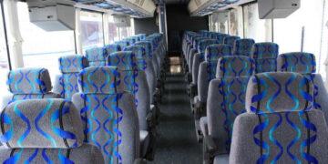 30 Person Shuttle Bus Rental Midland
