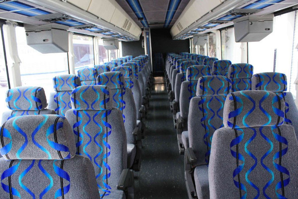 30 Person Shuttle Bus Rental Plainview