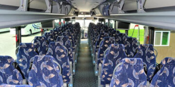 40 Person Charter Bus Brownfield