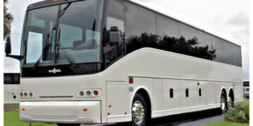 50 Passenger Charter Bus Lamesa