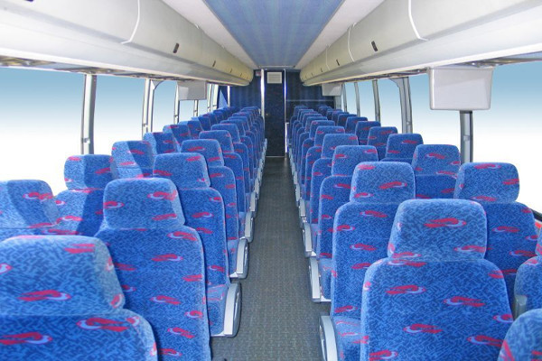 50 Person Charter Bus Rental Brownfield