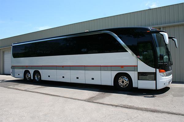 Lubbock 56 Passenger Charter Bus